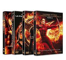 Dvd HUNGER GAMES, La Collezione Completa (4 Dvd)  ......NUOVO