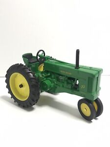 John Deere Model 70 Toy Tractor Green Diecast No Box 8x4x4
