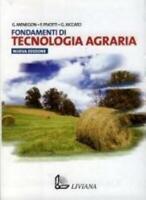FONDAMENTI DI TECNOLOGIA AGRARIA, LIVIANA SCUOLA CODICE:9788849470802