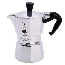 BIALETTI MOKA 2 TAZZE EXPRESS stovetop piano cottura Top Espresso Coffee maker Moka