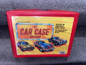 Vintage 48 Car Case Tara Toy Case  Hot Wheels Matchbox Die Cast Holder