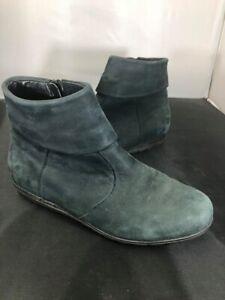 Ladies Waldlaufer Dark Green Boots SIZE 3 #MW
