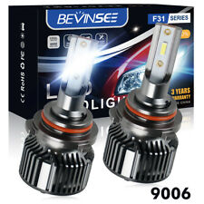 9006 HB4 LED Fog Light Bulbs Lamp 6000K Fit Toyota RAV 4 MK2 Corolla Verso 01-05