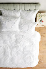 Anthropologie Claremore Swiss Dot Duvet Queen