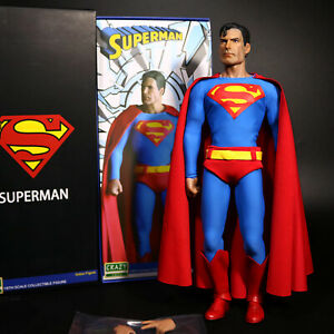 "DC Universe Superman Movie 1:6 12"" PVC Action Figure Collection Crazy Toys New"
