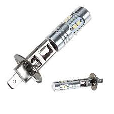 2x H1 10 LED 50W Nebelscheinwerfer Birne Auto DRL Lampe Licht Weiß 6000K 12V Neu