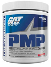 GAT PMP Muscle Pre-Workout, Strawberry Banana, 30 Servings EXP 01/21