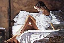 "Steve Hanks, (1949-2015), ""Sheets of White"", limited ed - S/N, 7""h x 11""w image"