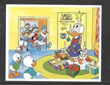 Caicos Islands - Disney Donald Duck Christmas 1984 MNH S/S