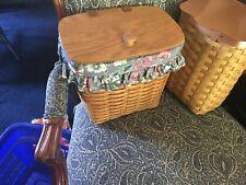 Longaberger 1992 Mailbox Basket Combo Cottage Garden