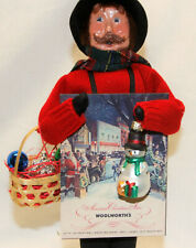 Byers Choice Open House Ornament Man Signed 2020 Caroler - New Free Shipping