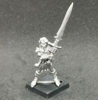 High Wood Elves Warrior ELF1 Kaer Citadel Warhammer Fantasy Metal OOP 1987 Sword