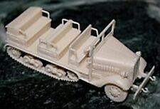 MGM 080-272 1/72 Resin WWII Japanese Isuzu Model 98 Half-Track Troop Transport