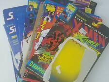 VINTAGE 1990S CARDBACK LOT FEATURING X-MEN, BATMAN, ETC. 30+