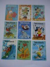 Turks and Caicos Islands 1979 SG575-83 1/4c-$1 MNH Disney Cartoon Characters