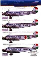 Hungarian Aero Decals 1/72 JUNKERS Ju-52/3m Hungarian Civil Service