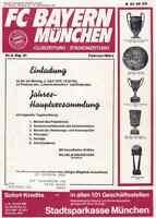 Fussball-Programmheft   78/79   Liga   Bayern München - A. Bielefeld