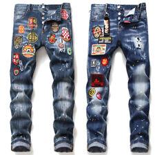 Dsquared2 Jeans da uomo  Pantaloni da uomo elasticizzati Pantaloni Jeans