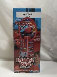 Hallmark Disney's Pixar Cars Treasure Tower Party Game Piñata Alternative~ NEW