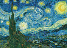 Starry Night by Vincent Van Gogh 1000 Piece Puzzle Jigsaw Puzzle - 26.5 x 19