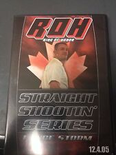 Ring of honor straight shootin series lance storm