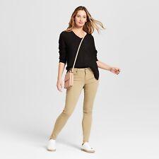 NEW! Women's Mid-rise Jegging Jeans - Mossimo - Khaki REGULAR - Stretch
