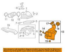 HONDA OEM 09-15 Pilot Air Cleaner Intake-Resonator Duct Tube Hose 17230RN0A01