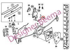 MINI R52 R57 Cabrio Portellone Cofano Posteriore Bowden lo sblocco di emergenza Cavo (JS)