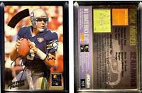 Rick Mirer Signed 1994 Action Packed #181 Card Seattle Seahawks Auto Autograph