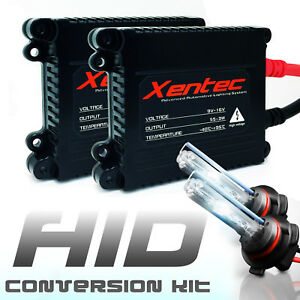XENTEC Metal 55W HID Conversion Kit H4 H7 H11 H13 9003 9005 9006 6K HiLo BiXenon