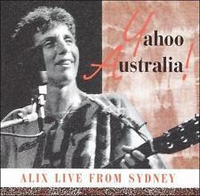 ALIX DOBKIN LIVE FROM SYDNEY YAHOO AUSTRALIA RARE 1990 CD