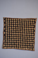 Kuba Cloth African Natural Woven Raffia Zaire Cloth Kuba