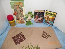 Steve Irwin The Crocodile Hunter Lot RARE ITEMS!!!