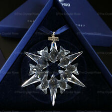 RARE Retired Swarovski Crystal 2007 Christmas Snowflake Ornament 872200