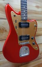 New Squier® Deluxe Jazzmaster with Tremolo Rosewood Fingerboard Candy Apple Red