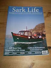 EXTREMELY RARE MAGAZINE,ISLAND OF SARK LIFE 2012,ARTICLE ON ROYAL VISITS