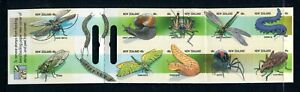 1997 New Zealand - Creepy Crawlies Self Adhesive Stamp Booklet