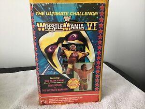 WWF WWE WCW Wrestling Wrestlemania VI 6  Great  Price See. Our huge Range