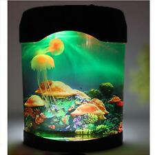 LED Multi Colored Jellyfish Aquarium Lighting Fish Tank Mood Night Light Lamp
