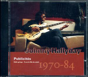 "JOHNNY HALLYDAY ""PUBLICITES"" VOL. 38 DE LA GUITARE CD ""MIROIR"" PHILIPS 512500-2"