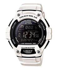 Casio Solar Digital Watch, World Time, 120-Lap, 100 Meter, 5 Alarms, WS220C-7BV