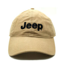 Jeep Cap Baseball Golf Classic Sport Casual Embroidery Hat Khaki Hat