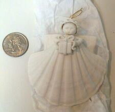 """Retired 1991 Margaret Furlong Thanksgiving Gift Angel 3.25"""" Ornament"""