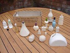 Avon Wooden Prototype Perfume Bottles Rare Vintage Job Lot Rare Vintage GSP
