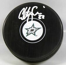COLTON SCEVIOUR Signed DALLAS STARS HOCKEY PUCK! AUTOGRAPH! 1006175