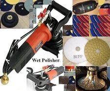 "Wet Polisher Grinder 1 1/4"" Half B30 Bullnose Granite Router Bit Pad DAMO Buff"
