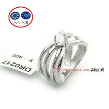 "ViVi ""H & A "" Signity Star Diamond Ring 8295 #8"