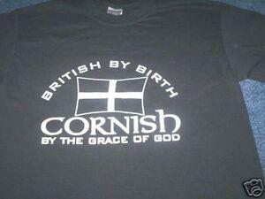 CORNISH PATRIOT CORNWALL T-SHIRT KERNOW all sizes PIRAN