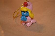 Smurfette Praying Christmas Ornament Rare Smurf Vintage Figure #1347
