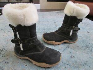 Women's Salomon Lhasa Boots black winter boots Sz. 10